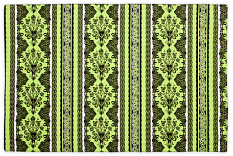 The Haunted Mansion Wallpaper Placemat - Green | Kitchen Essentials | Disney Store