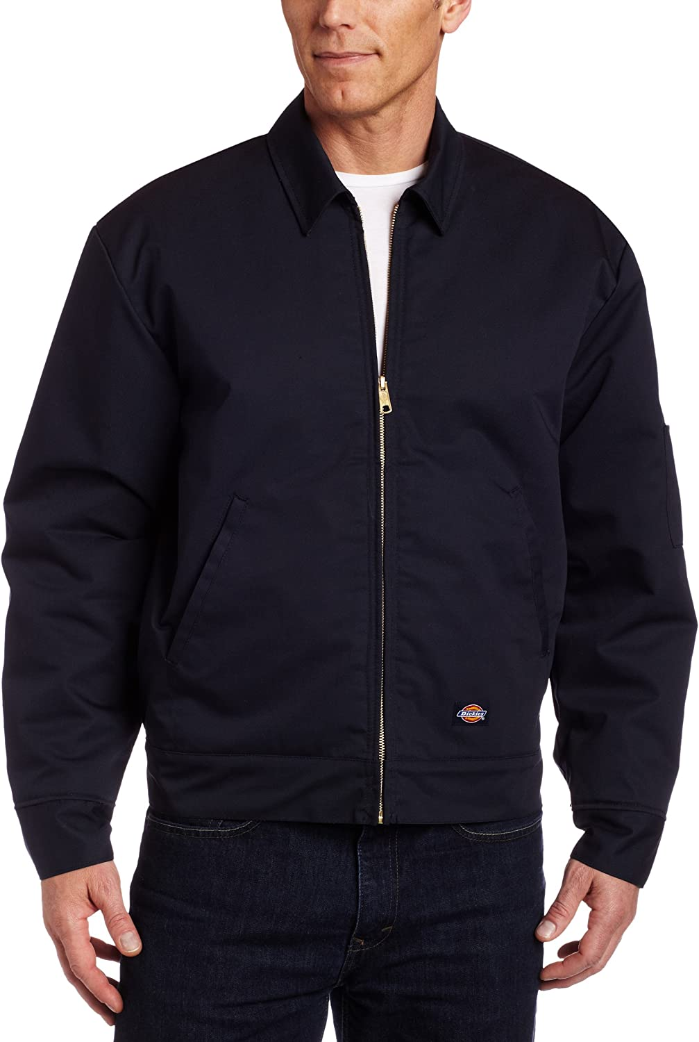 Dickies Men's Insulated Eisenhower Front-Zip Jacket