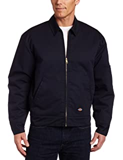88a59c7f6f4 Amazon.com  Dickies Men s Hip Length Twill Jacket Big  Work Utility ...