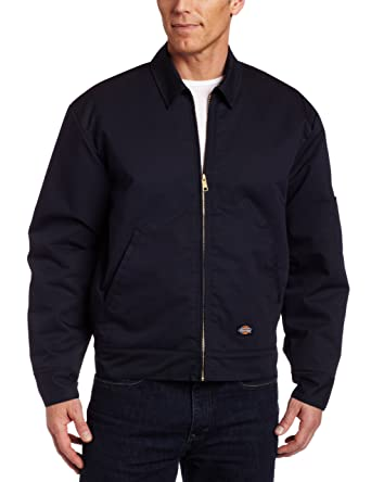 Dickies Insulated Eisenhower Jacket, Chaqueta de Trabajo para Hombre, Azul (Dark Navy Dn