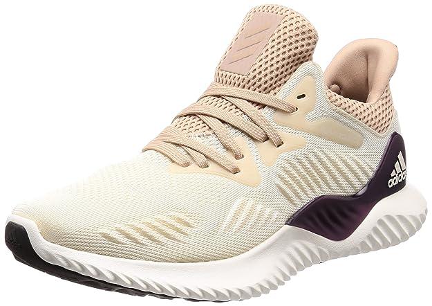 adidas Alphabounce Beyond W, Chaussures de Running Compétition Femme, Bleu (Azucen 000), 39 1/3 EU