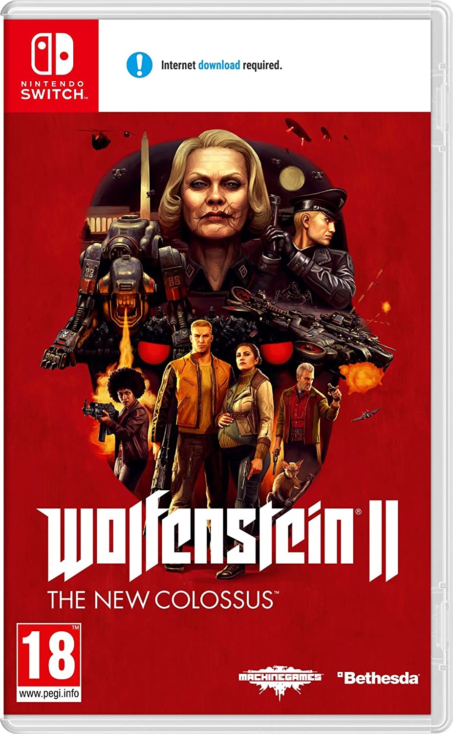 Wolfenstein 2: The New Colossus - Nintendo Switch [Importación ...