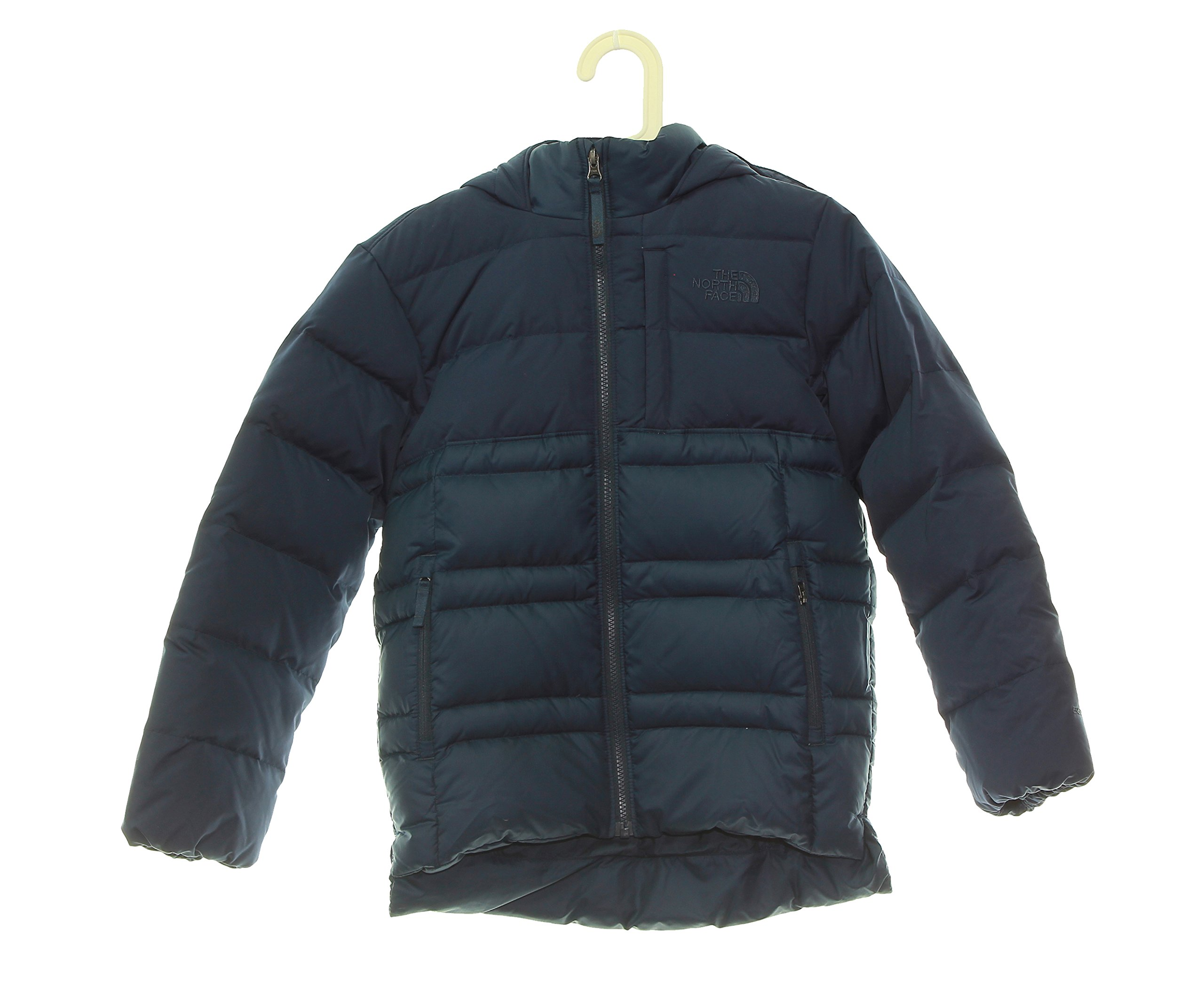 Boy's The North Face Double Down Hoodie Jacket 10/12 Medium Blue by No Warranty The North Face