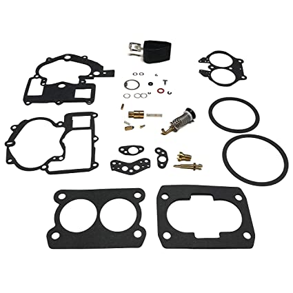 Amazon Com Mercruiser Carburetor Repair Rebuild Kit 3 0l 4 3l 5 0l