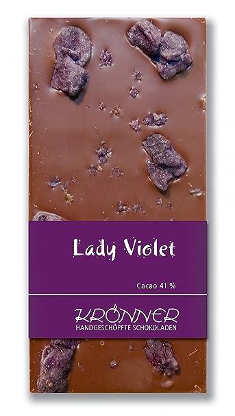 Krönner Lady Violet Edelvollmilch Schokolade
