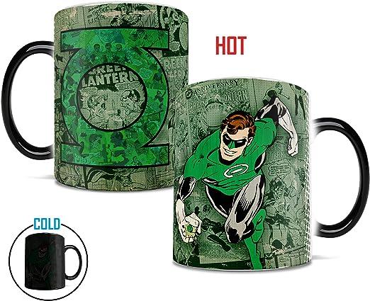 CERAMIC COFFEE MUG // CUP THE GREEN LANTERN DC COMICS COLOUR