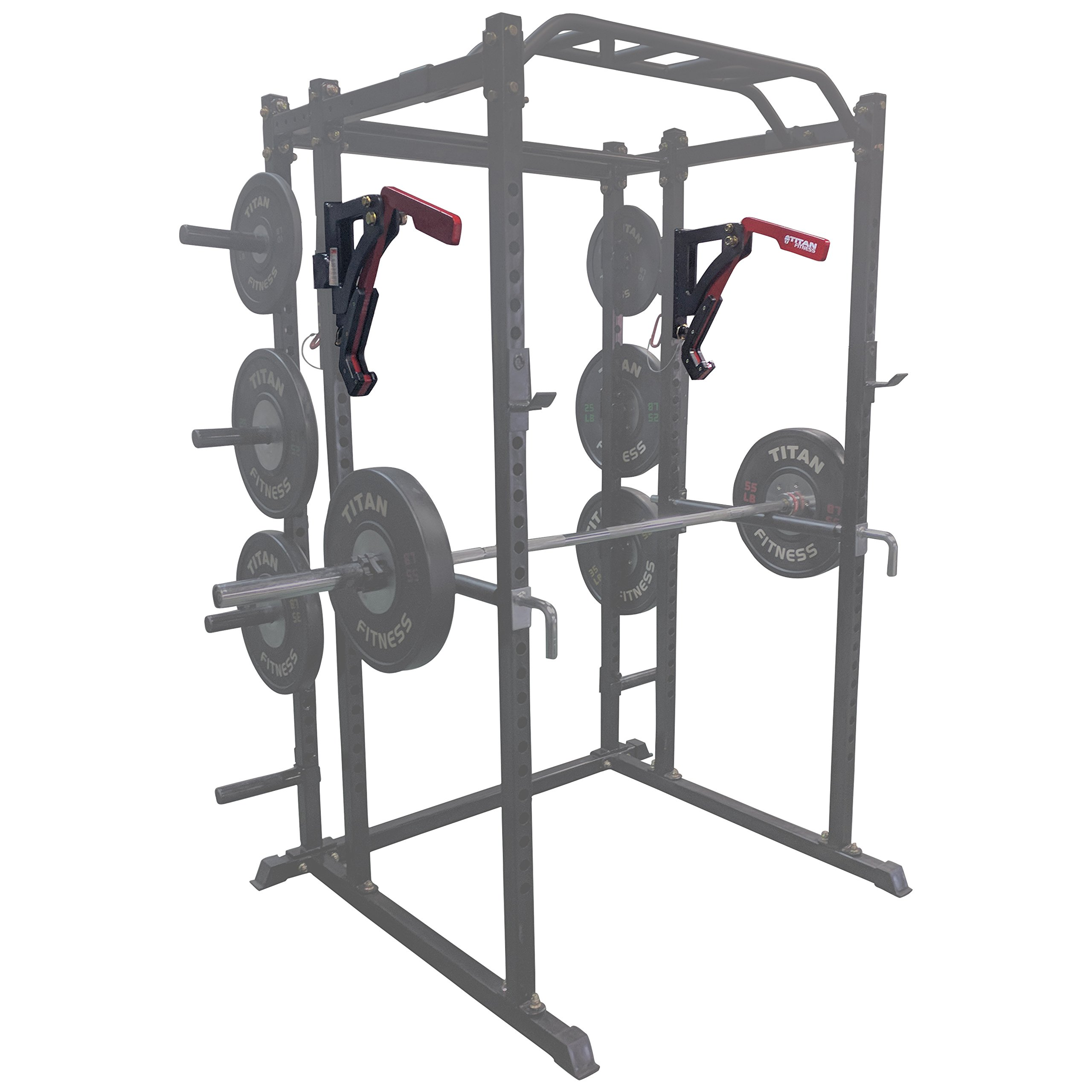 Titan Adjustable Monolift Rack Mounted Attachment for T-2 Power Rack