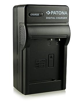 Patona - Cargador tipo DMW-BLG10/DMW-BLG10E, compatible con Panasonic Lumix DMC-GF6, DMC-GX7, etc.