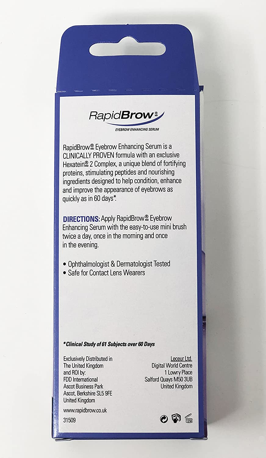 Rapid Lash Rapidbrow Eyebrow Enhancing Serum With Hexatein 2