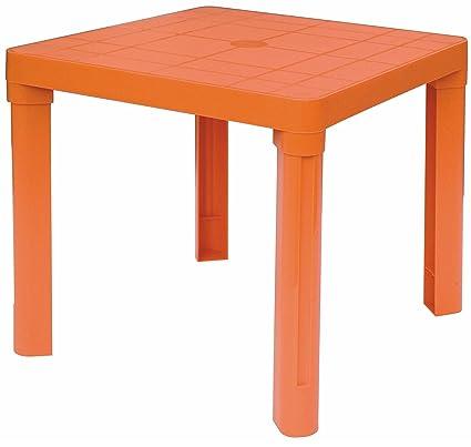 Tavoli In Plastica Colorati.Tavolino Basso In Plastica Colorato Per Bambini Esterno Interno