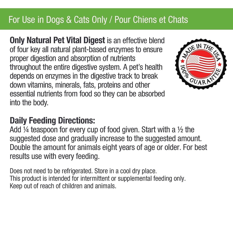 Amazon.com: Sólo Naturales Pet Vital Resumen Fórmula para ...