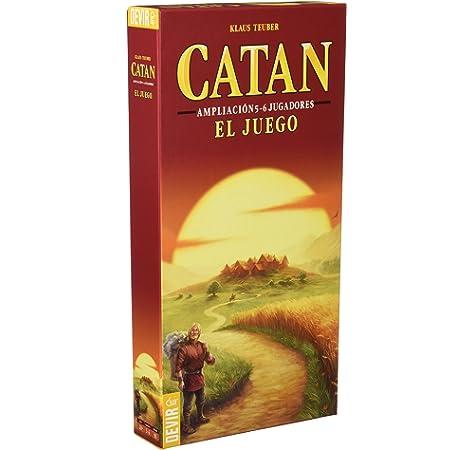 Los Descubridores De Catán. 5-6 Jugadores: Teuber, Klaus: Amazon.es: Juguetes y juegos