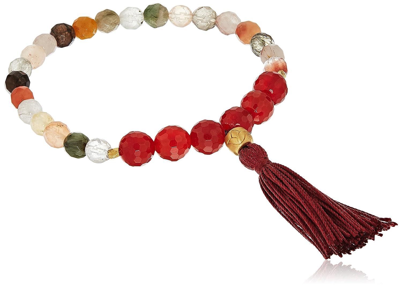 Satya Jewelry Mala Bracelets Onyx Charm Bracelet BGM-28