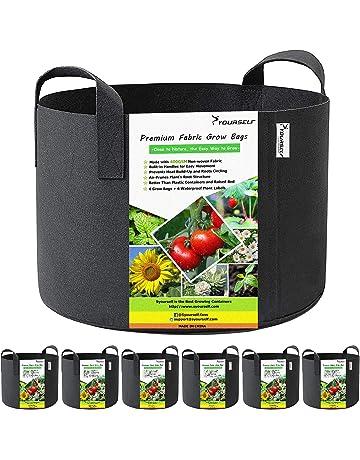INHEMI 5X Sacs /à Plantes Sacs de Culture pour Pommes de Terre Tissu Non-tiss/é Sac de Plantation Sac de Legumes 5 Gallons