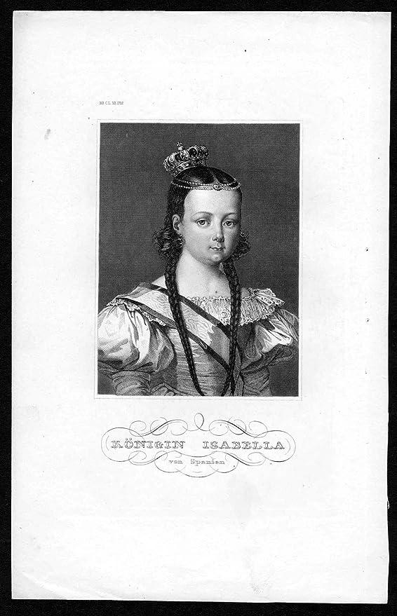 Gráficos Reina Isabella de España – Isabel II de Espana Reina ...