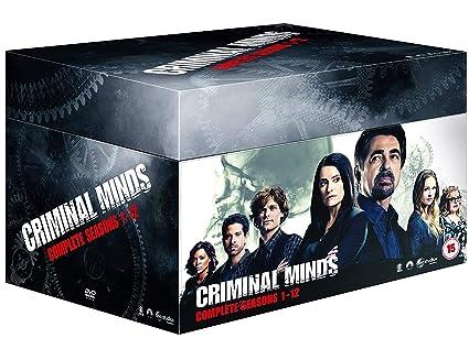 Criminal Minds Seasons 1-12 [DVD]: Amazon co uk: Shemar