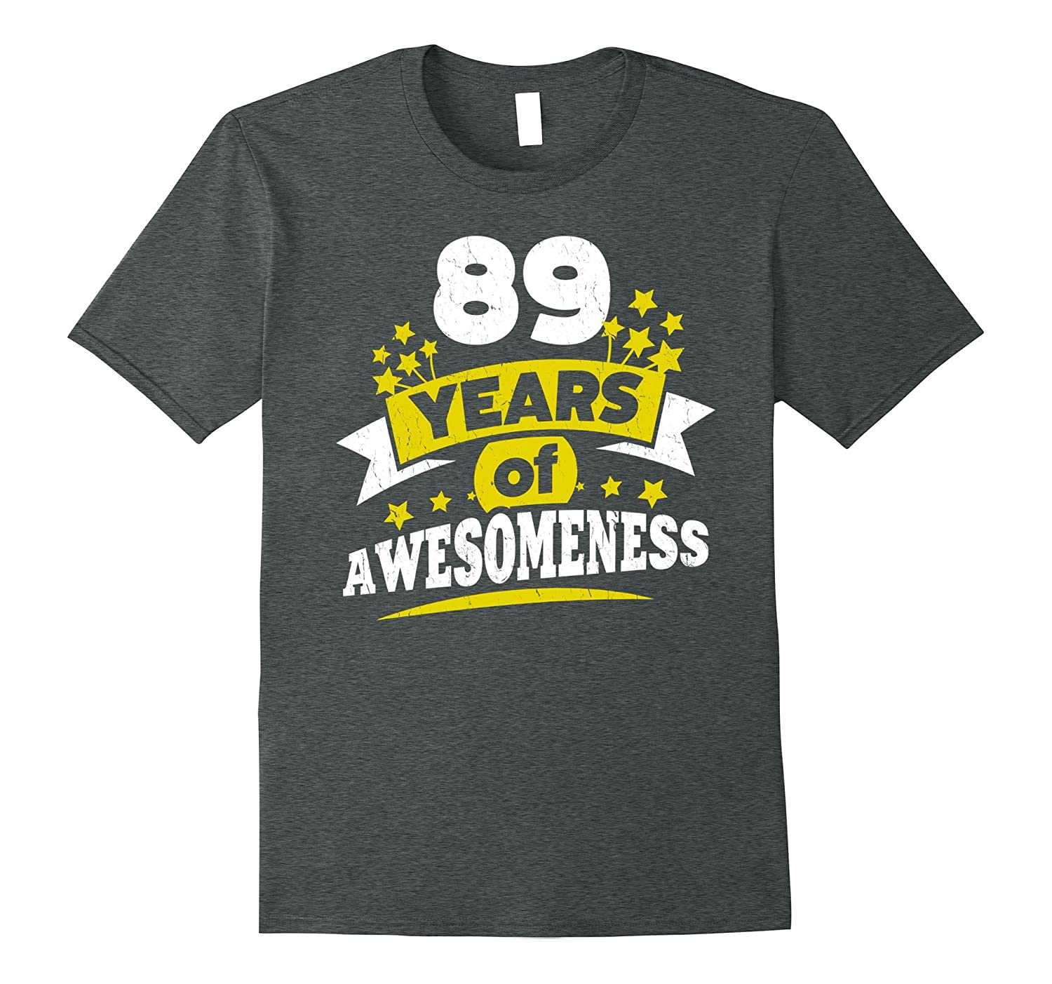 Birthday Gift For 89 Year Old Woman 89th Tee Shirt PL