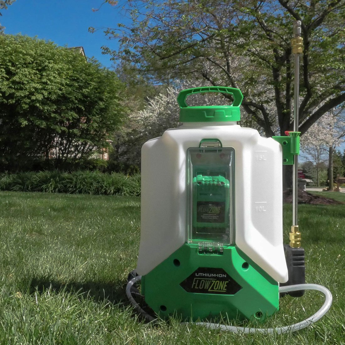 Typhoon 4-Gallon Multi-Use Continuous-Pressure 18V/5.2Ah Lithium-Ion Backpack Sprayer by FlowZone (Image #5)
