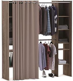 Miroytengo Kit Armario Extensible vestidor Armario ropero ...