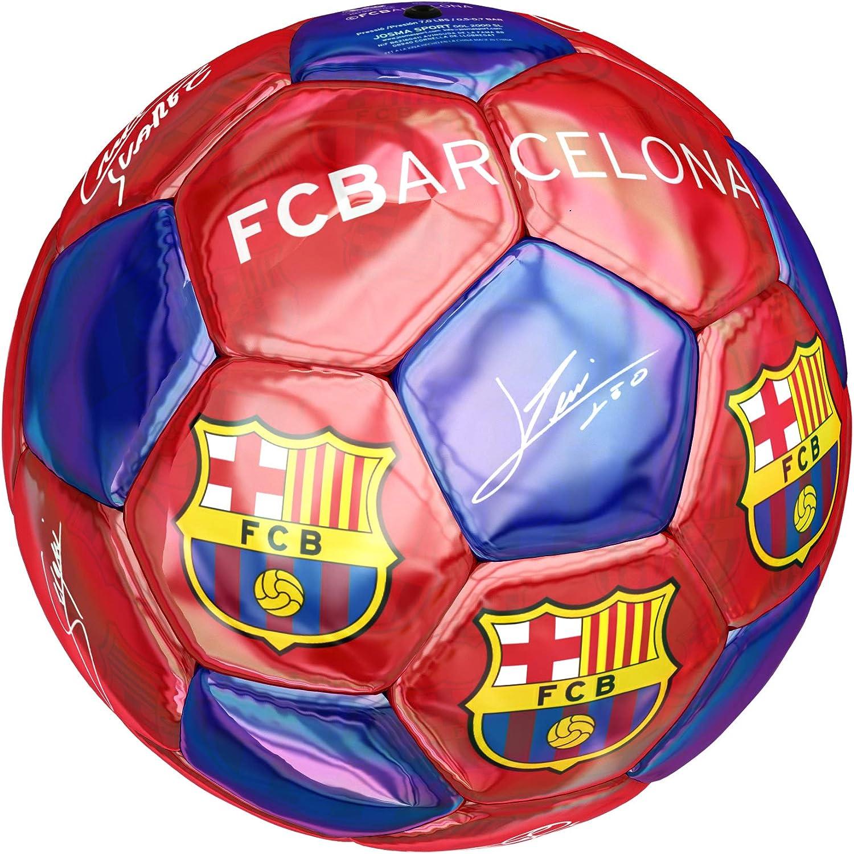 Balón Mediano Firmas Oficial FC Barcelona.: Amazon.es: Deportes y ...