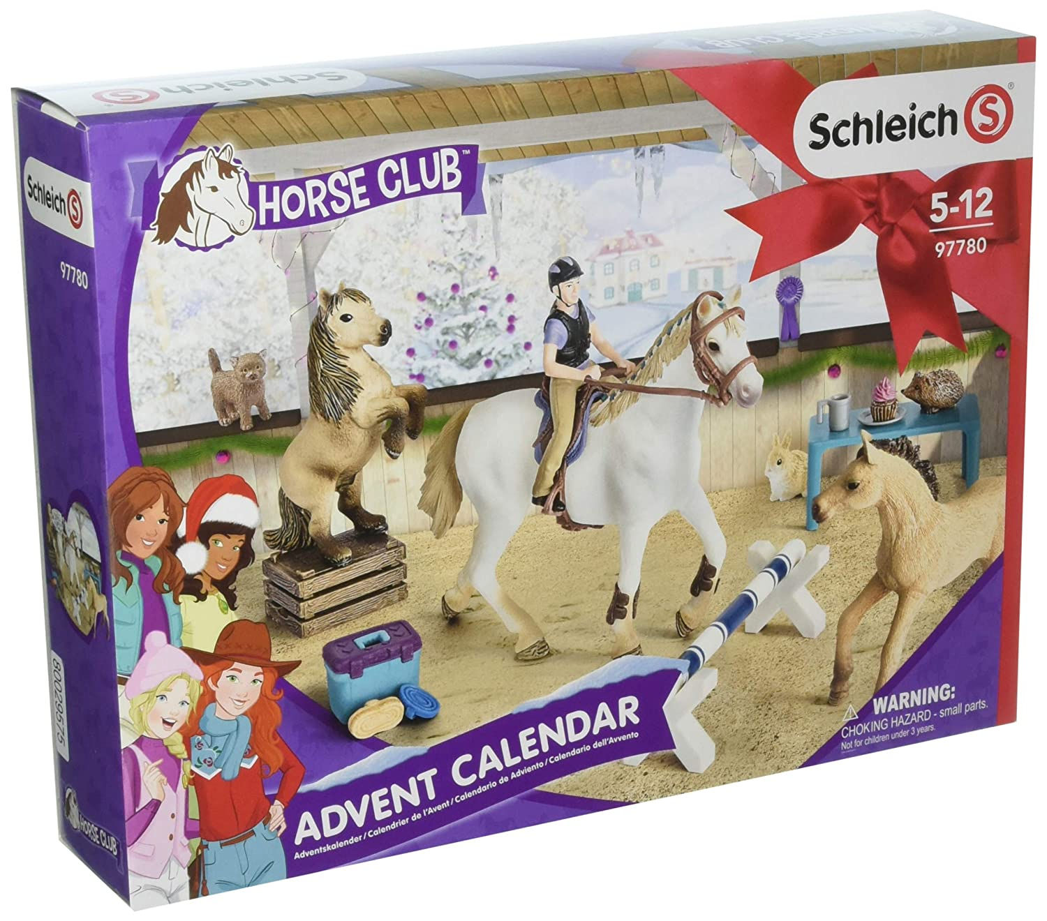 Horse Club Schleich 97780 Calendario de adviento 2018