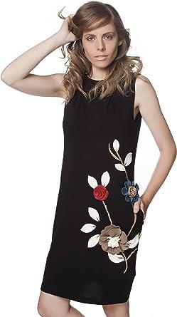 Mamatayoe Aurora, Vestido Casual para Mujer, Negro, M: Amazon.es: Ropa y accesorios
