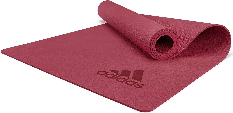 Amazon.com : adidas Premium Yoga Mat - Mystery Ruby, 5mm : Sports & Outdoors