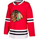 adidas Chicago Blackhawks NHL Mens Climalite Authentic Team Hockey Jersey