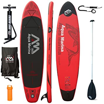 AQUA MARINA Monster SUP hinchable Stand Up Paddle Tabla de surf Modelo 2016 Board+Remo