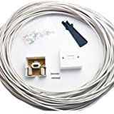 15M BT Telephone Master Socket/Box Line Extend Extension Cable Kit - 10m 15m Lead - CableFinder