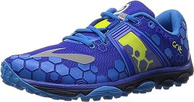 Brooks Puregrit 4 - Zapatillas de Entrenamiento Hombre, Azul - Blau ...