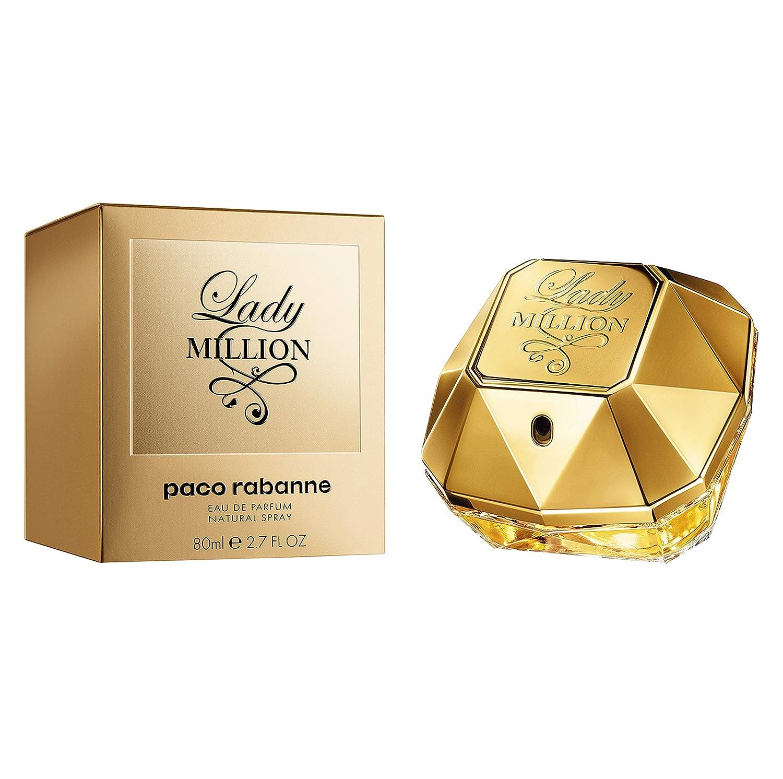 Paco Lady Million Parfum Eau Rabanne 80ml De 0PwOk8nX