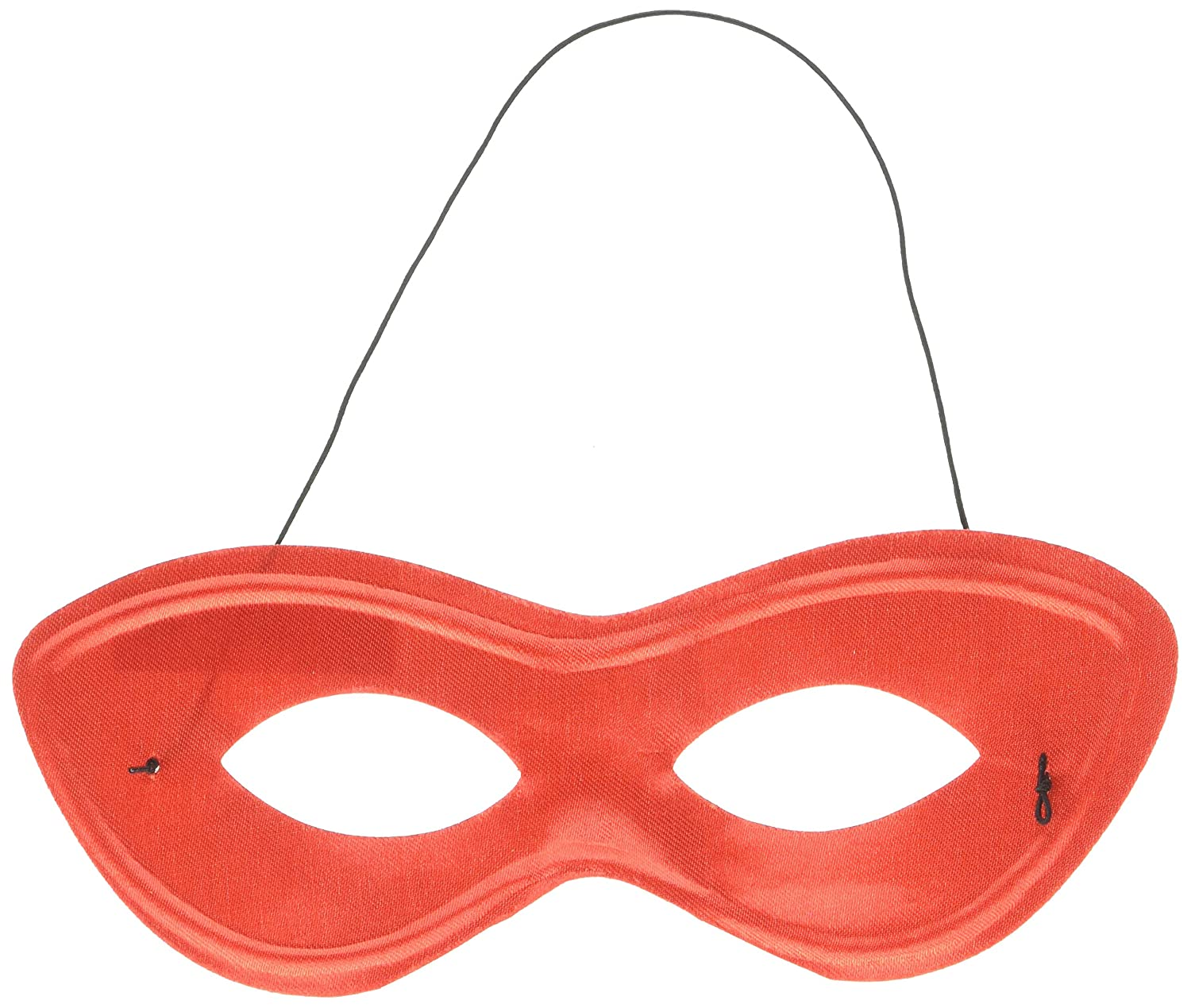 Amscan 395936.1 Game Ready Team Spirit Party Super Hero Mask Accessory, Black, One Size, 12ct, 2 7/8' x 8 1/4' 2 7/8 x 8 1/4