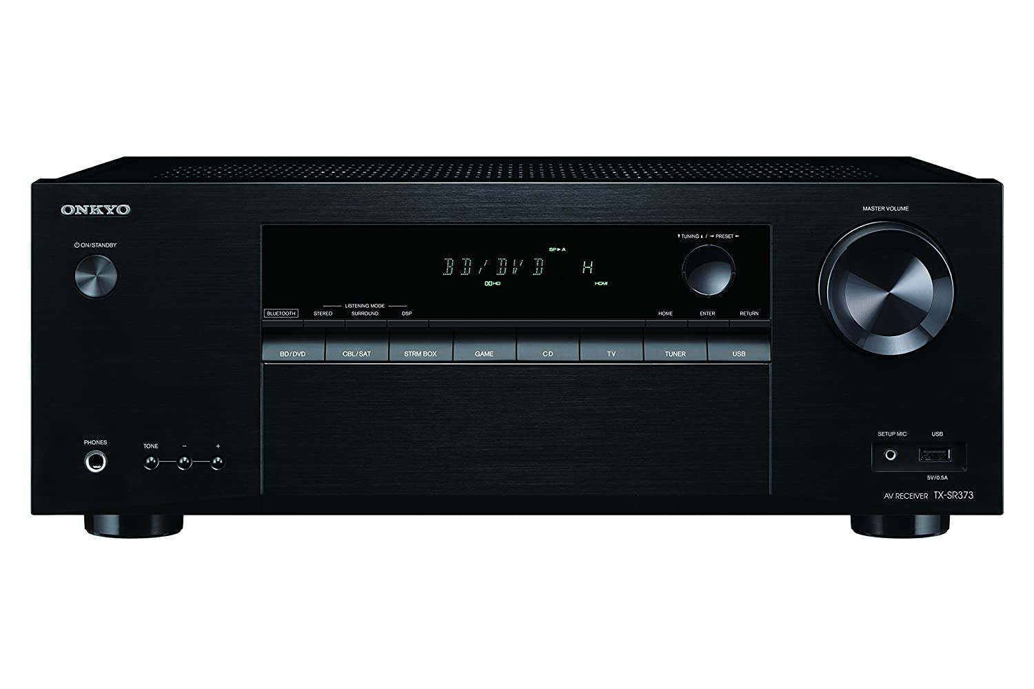 Onkyo Tx Sr373 5.2 Channel A/V Receiver With Bluetooth by Onkyo