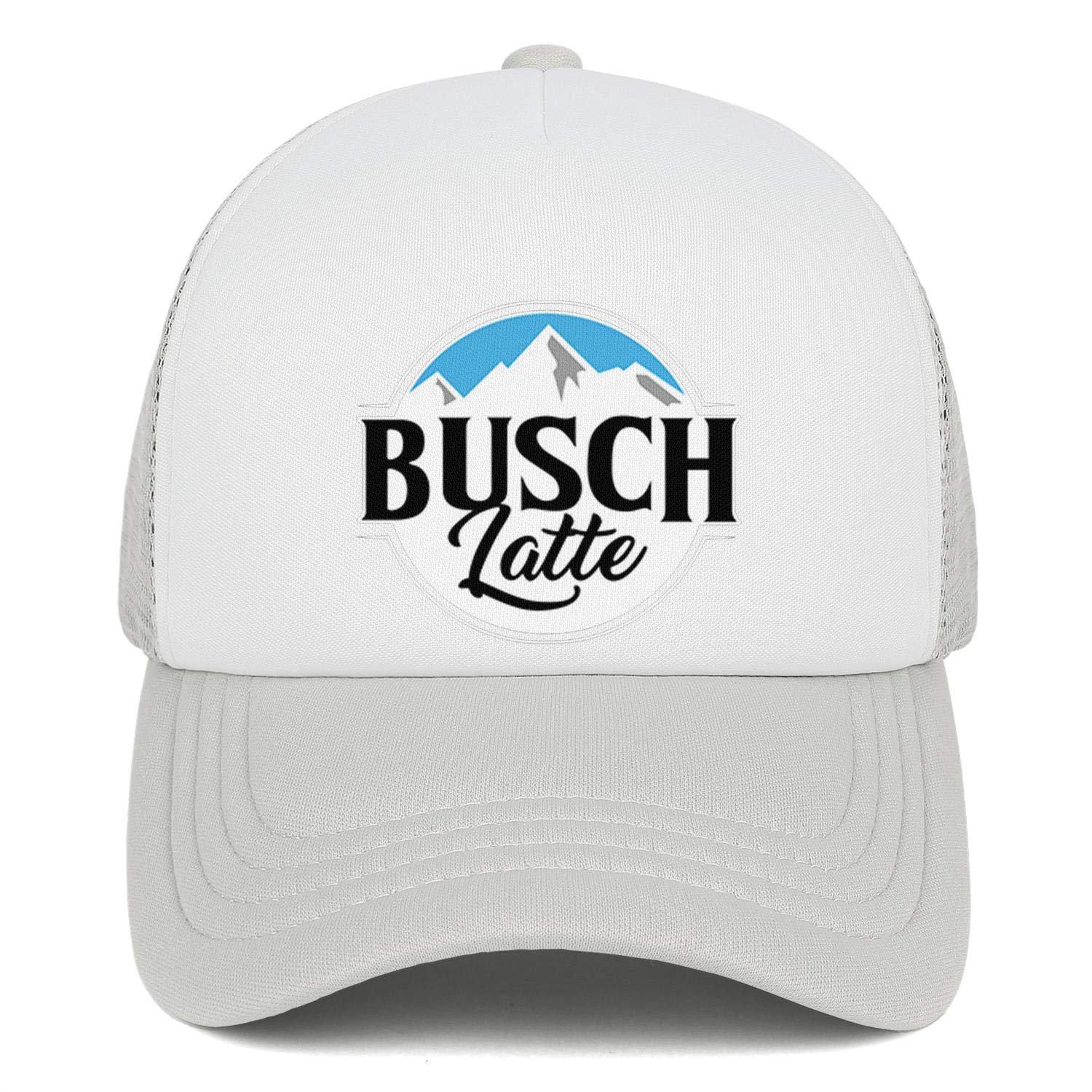 Sports Cap Mens Women Trucker Hat DKOEWPQM Unisex Caps Busch-Light-Busch-Latte