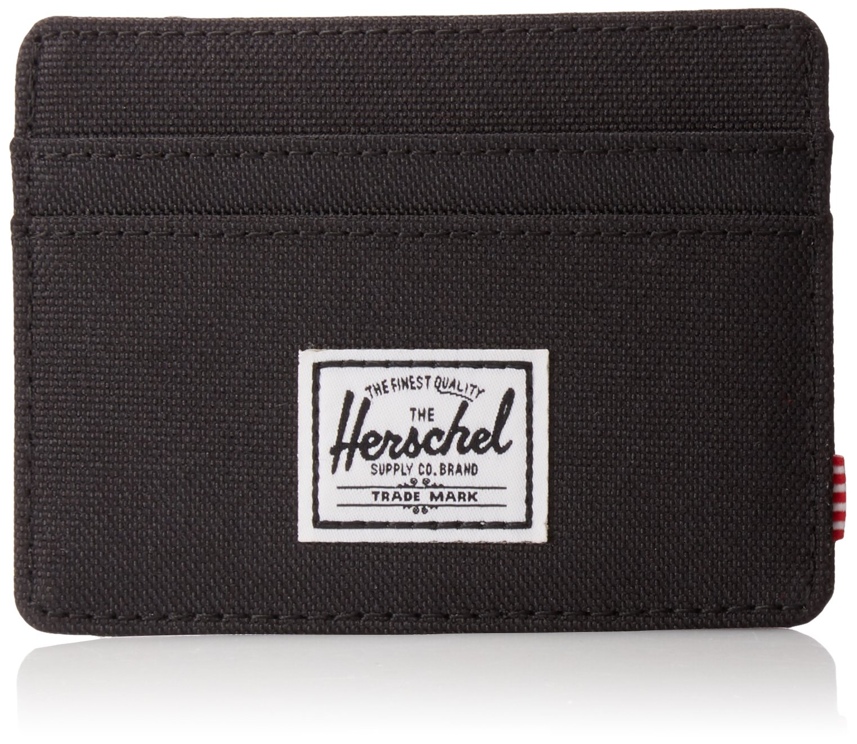 Herschel Supply Co. Men's Charlie Rfid, Rfid black, One Size