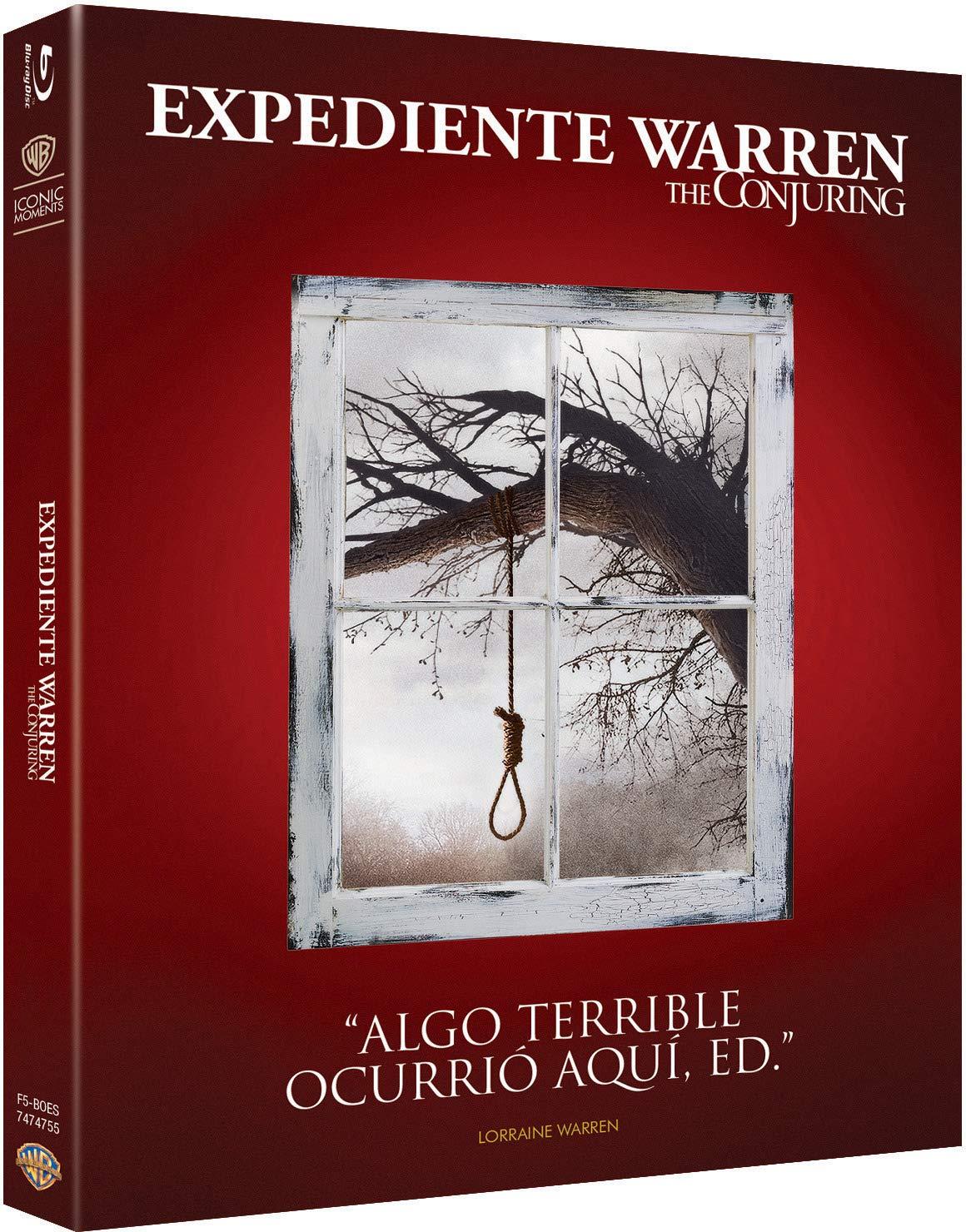 The Conjuring Blu-Ray - Iconic [Blu-ray]: Amazon.es: Lili ...