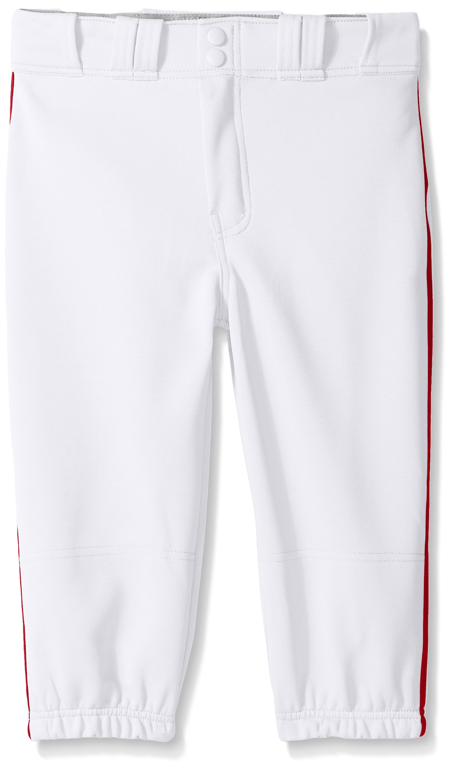 Easton Boys PRO Plus Piped Knicker, White/Red, Small