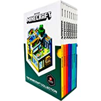 The Official Minecraft Guide Collection 8 Books Box Set By Mojang (Ocean Survival, Farming, PVP Minigames, Enchantments…