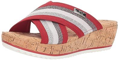 c0031327a96c Amazon.com  Anne Klein Women s Felisha Platform Sandal Wedge  Shoes