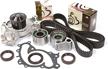 [SCHEMATICS_4CA]  Amazon.com: Evergreen TBK257WPT Compatible With 95-04 Lexus ES300 Toyota  Solara Avalon Camry 1MZFE Timing Belt Kit Water Pump: Automotive | Lexus Timing Belt |  | Amazon.com