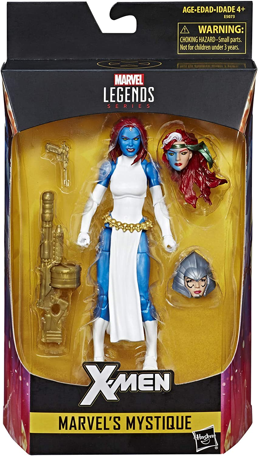 MARVEL LEGENDS X-MEN MYSTIQUE WALGREENS EXCLUSIVE IN HAND FREE SHIPPING