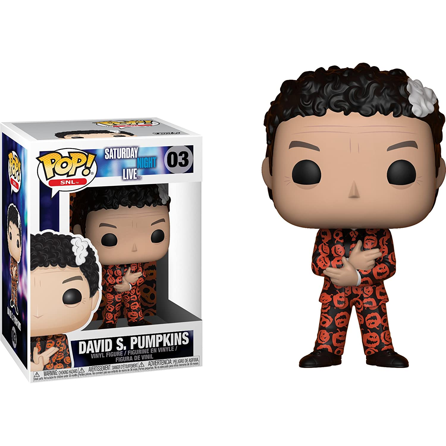 Funko Pop David S Pumpkins Collectible Toy 26777 Accessory Toys /& Games TV: Saturday Night Live