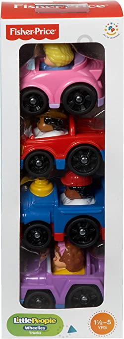 Fisher Price Little People Car Red TOW TRUCK New
