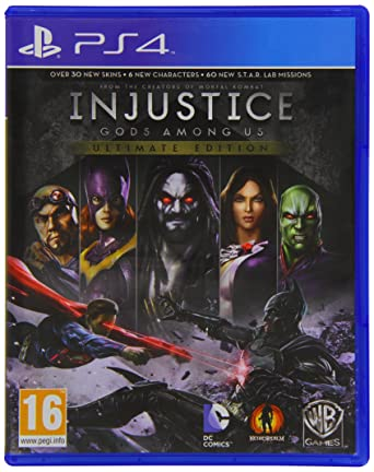 Injustice gods among us ultimate edition ps4 amazon pc injustice gods among us ultimate edition ps4 voltagebd Images