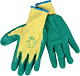 12 PAIRS PORTWES LATEX WORK GLOVES A150 S-XXL