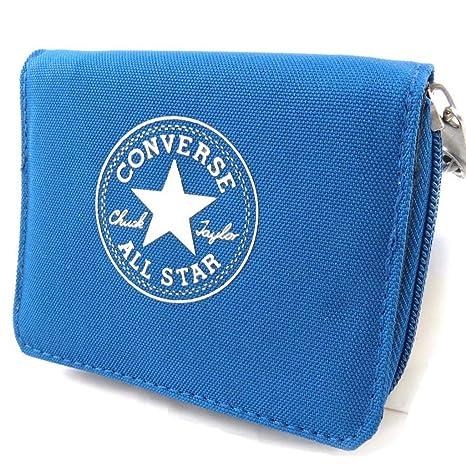 Cartera Converse azul.