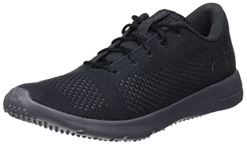 Under Armour Men s Rapid Competition Running Shoes Black  Amazon.co ... 47b5f7e20fb7b