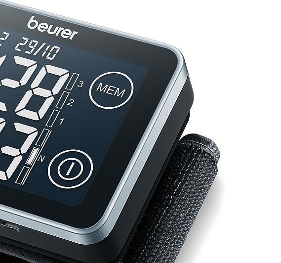 Beurer BC 58 - Tensiómetro de muñeca, con conexión a PC, memoria 2 x 60 mediciones, color negro: Amazon.es: Salud y cuidado personal