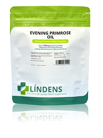 Lindens - Aceite de onagra c‡psula 1000mg - 90 Pack
